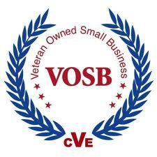 Proud to be a Veteran Owned Small Business.